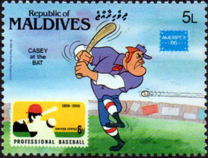 1986 Maldive Islands – Casey at the Bat