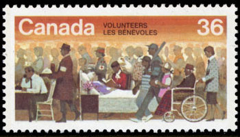 1987 Canada – Volunteers (with baseball bat)