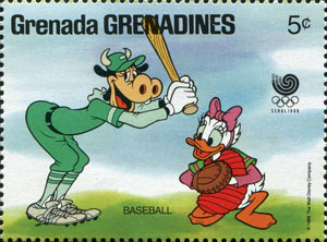 1988 Grenadines of Grenada – Olympic Games Seoul