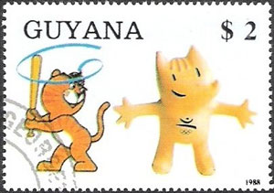1989 Guyana – Olympic Games in Barcelona