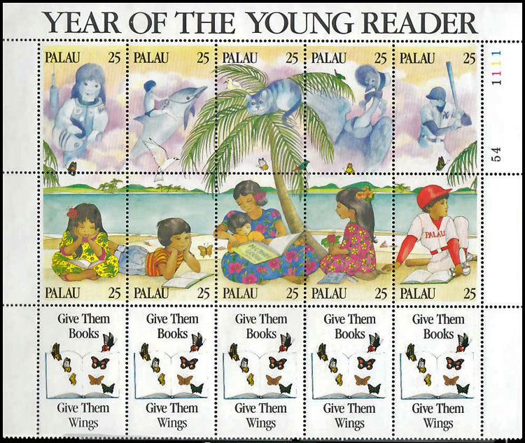 1989 Palau – Week of the Young Reader
