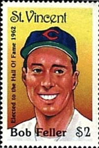 1989 St. Vincent – Bob Feller