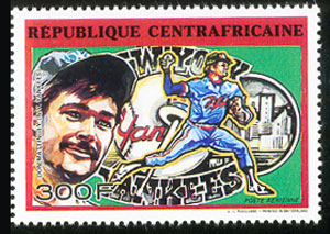 1990 Central African Republic – Don Mattingly