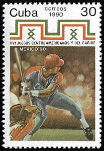 1990 Cuba – XVI Juegos Centroamericanos y del Caribe