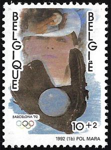 1992 Belgium – Olympic Games in Barcelona