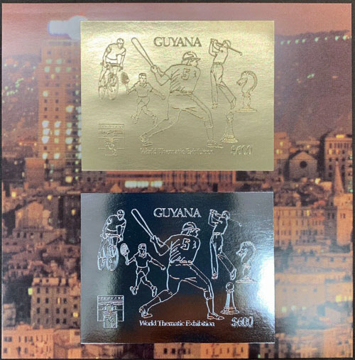 1992 Guyana – World Thematic Exhibition in Gold and Silver