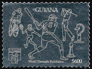 1992 Guyana – World Thematic Exhibition, Silver