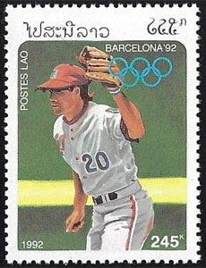 1992 Laos – Olympics in Barcelona