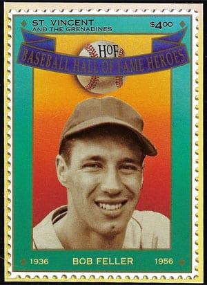 1992 St. Vincents – Hall of Fame Heroes, Bob Feller