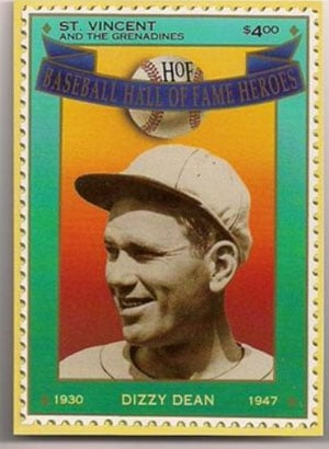 1992 St. Vincents – Hall of Fame Heroes, Dizzy Dean