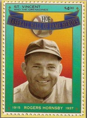 1992 St. Vincents – Hall of Fame Heroes, Rogers Hornsby