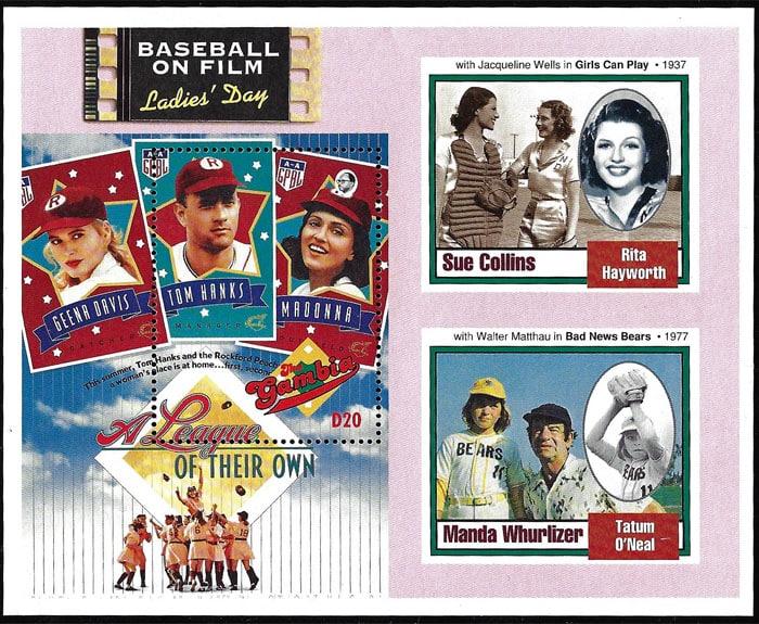 1993 Gambia – Baseball on Film Ladies' Day: Sue Collins and Manda Whurlizer