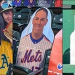 Cardboard Cutout Baseball Fans