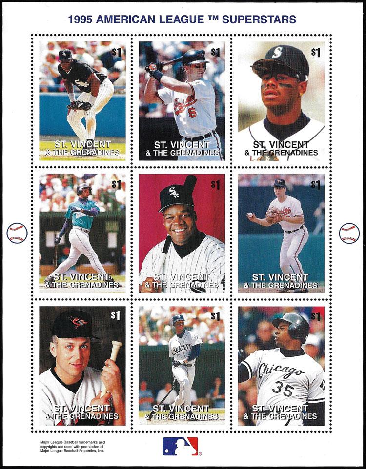 1995 St. Vincent – American League Superstars