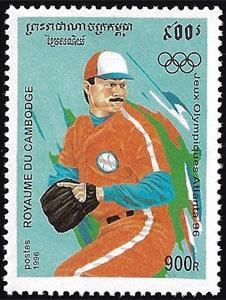 1996 Cambodia – Olympics in Atlanta
