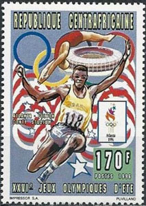 1996 Central Africa – Olympic Games & Fulton County Stadium