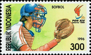 1996 Indonesia – 14th PON Games in Jakarta, Softball