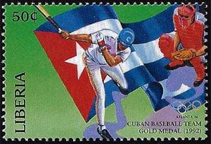 1996 Liberia – Cuba Baseball Team Wins Gold Medal