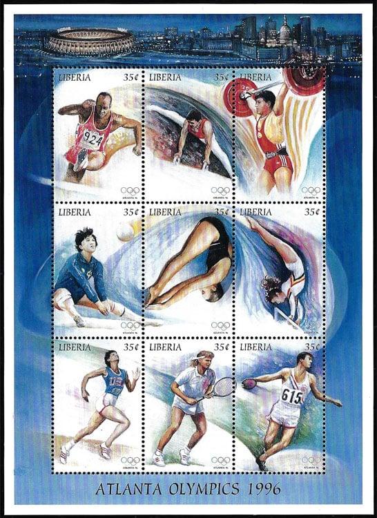 1996 Liberia – Atlanta Olympics, Fulton County Stadium