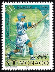 1996 Monaco – Olympic Softball in Atlanta
