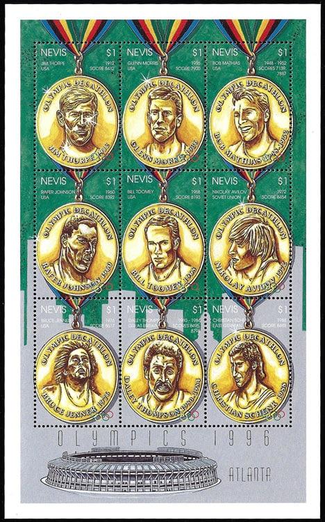 1996 Nevis – Olympics 1996, Fulton County Stadium