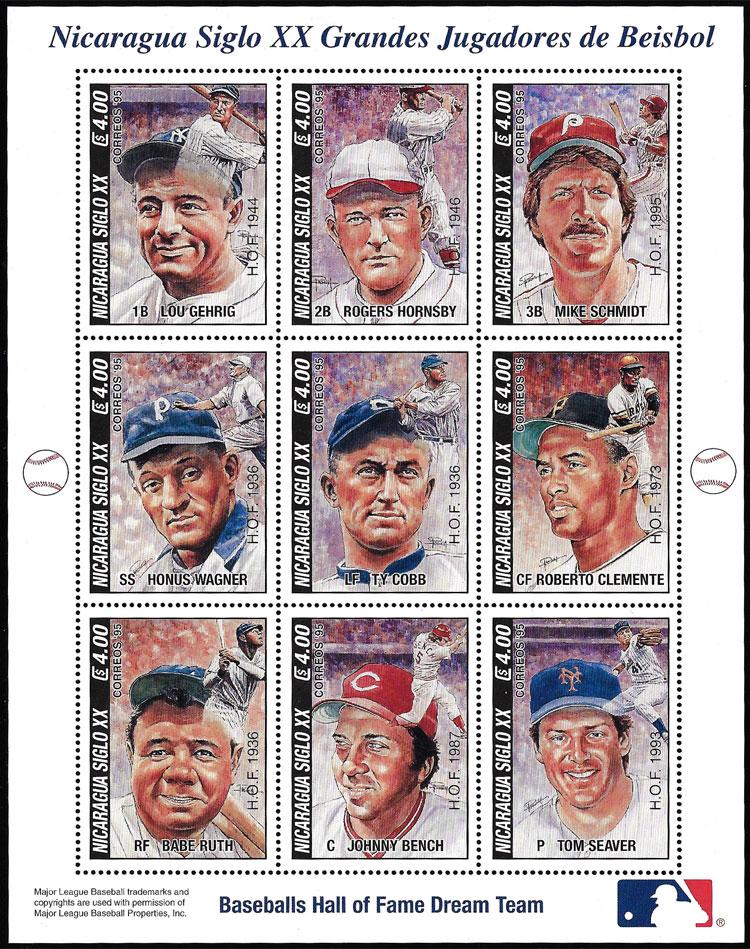 1996 Nicaragua – Baseball's Hall of Fame Dream Team
