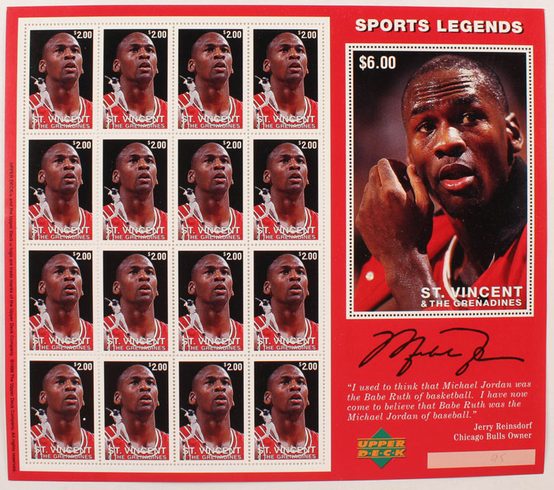 1996 St. Vincent – Sports Legends, Michael Jordan