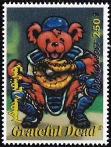 1998 Mongolia – Grateful Dead Teddy Bear Catcher