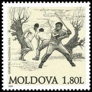 1999 Moldova – Oina, predecessor to baseball