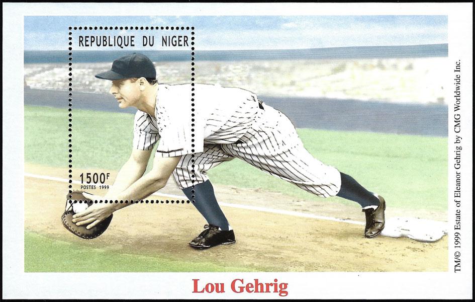 1999 Niger – Lou Gehrig 1500 F