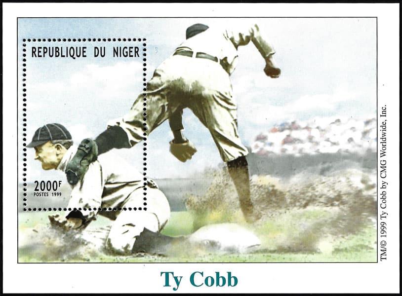 1999 Niger – Ty Cobb 2000 F