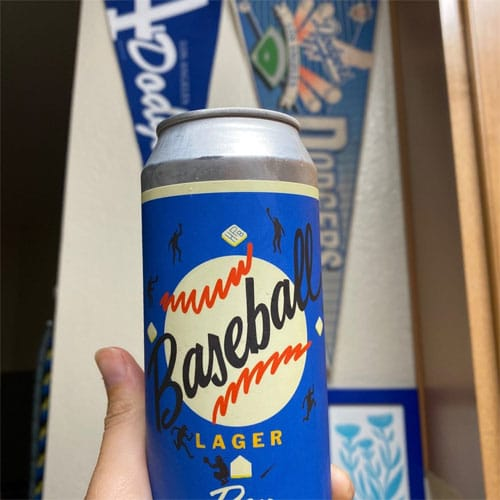 Baseball Lager Beer by Highland Park Brewery