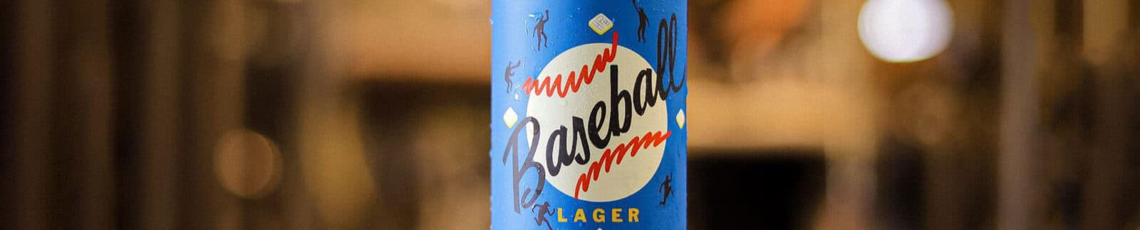 Baseball Lager Beer by Highland Park Brewery header