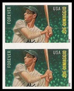 Joe DiMaggio – MLB All-Stars Stamp, Imperforate