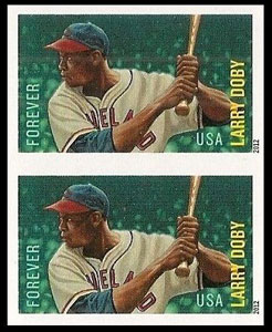 Larry Doby – MLB All-Stars Stamp, Imperforate