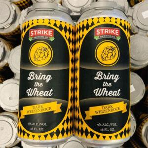Bring the Wheat Dark Weizenbock by Strike Brewing