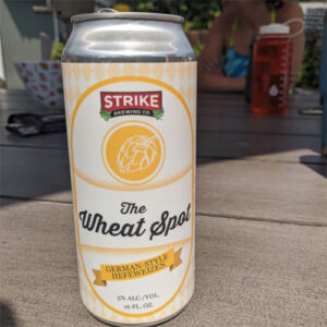 The Wheat Spot by Strike Brewing