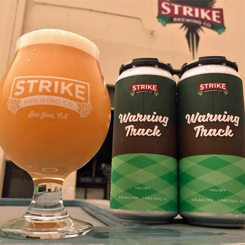 Warning Track by Strike Brewing Co
