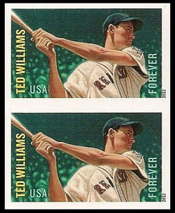 Ted Williams – MLB All-Stars Stamp, Imperforate