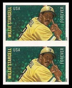 Willie Stargell – MLB All-Stars Stamp, Imperforate