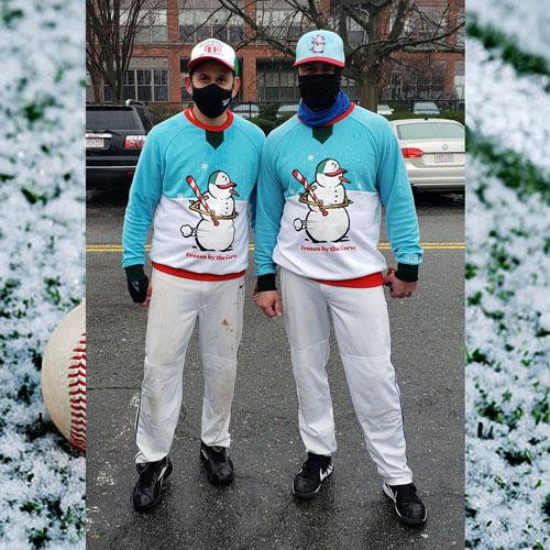 Brett Rudy and Nick Rotolo: A Couple of Snowmen