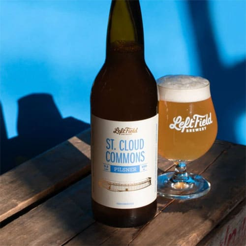 Left Field Brewery – St. Cloud Commons Pilsner