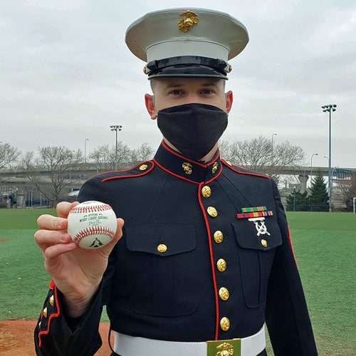 Sgt. William Neill from the U.S. Marines