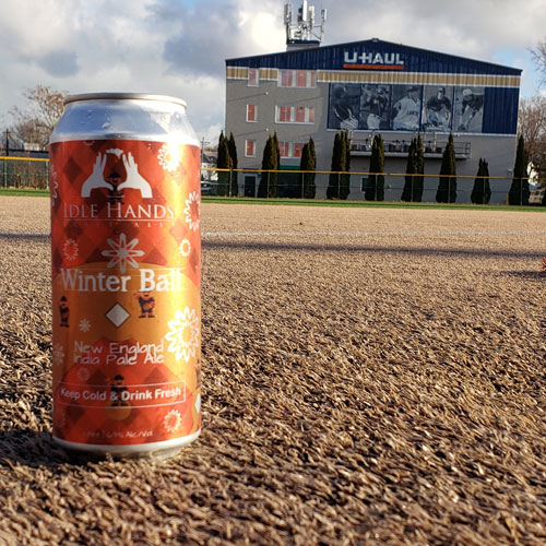 Winter Ball IPA at Second Base by Idle Hands Brewery