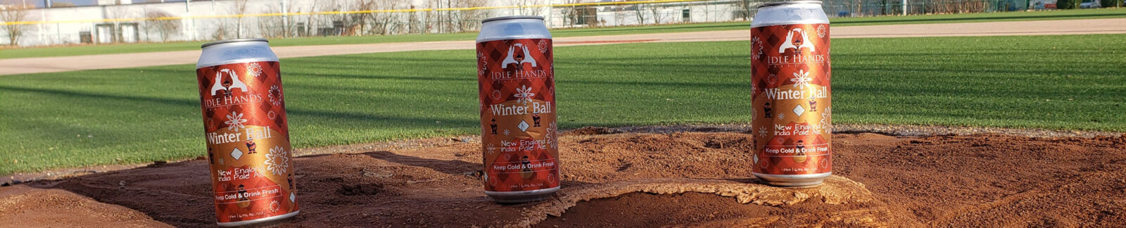 Winter Ball IPA by Idle Hands Brewery