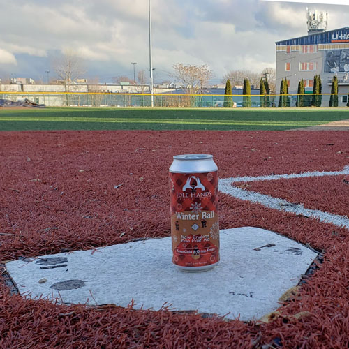 Winter Ball IPA at Home Plate by Idle Hands Brewery