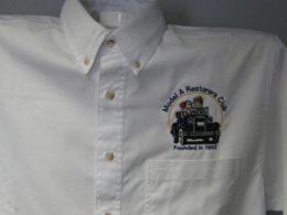 White Twill Denim Shirt