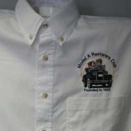 White Twill Denim Shirt