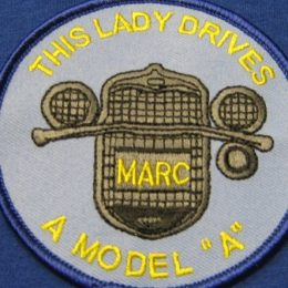 "This Lady Drives A Model ""A"" Patch"