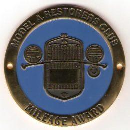 Mileage Award Emblem